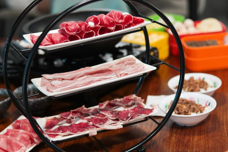 Meat Lover Tray from Feima Taiwan Stone Hot Pot