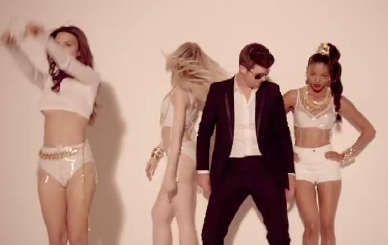 Calvin Harris and Robin Thicke Provide Anthems for Rape and Racism, say Activists