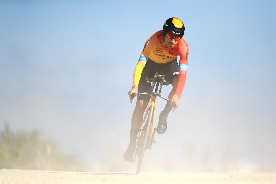 MIJAS, SPAIN - FEBRUARY 23: Mikel Landa of Spain and Team Bahrain - McLaren / during the 66th Vuelta a Andalucía - Ruta del Sol 2020, Stage 5 a 13km Individual Time Trial from Mijas to Mijas 672m / @VCANDALUCIA / #UCIProSeries / ITT / on February 23, 2020 in Mijas, Spain. (Photo by David Ramos/Getty Images)