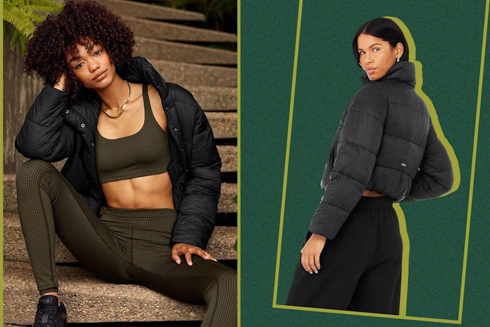 This Cropped Puffer Jacket Is the Most Stylish Way to Stay Warm This Winter