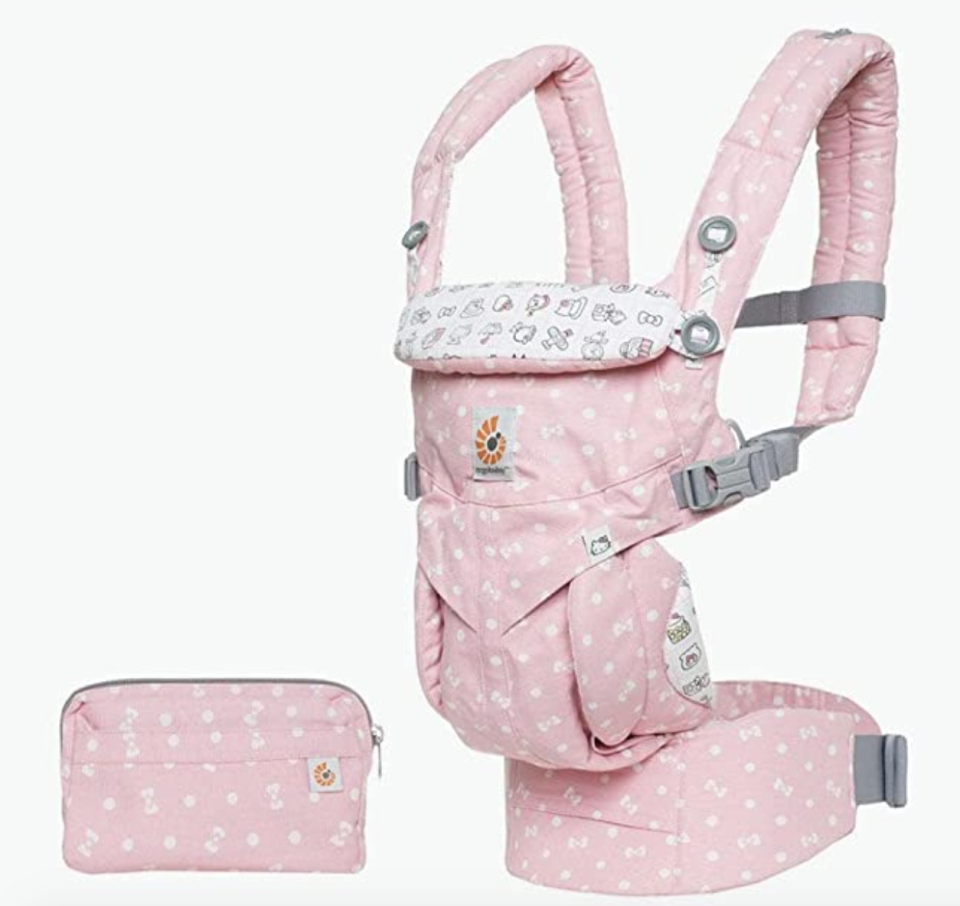 Ergobaby Omni 360 Playtime Baby Carrier, Pink. PHOTO: Amazon