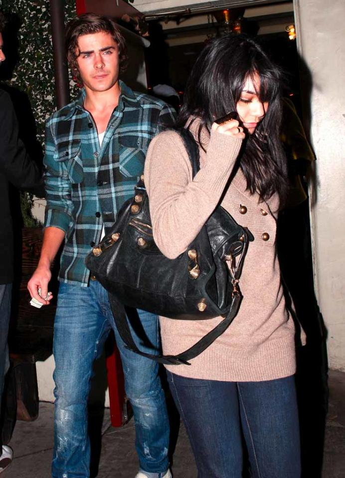 "Meanwhile, Corbin's ""HSM"" costars Zac Efron and Vanessa Hudgens were spotted leaving Dominic's after a dinner date on Monday. <a href=""http://www.x17online.com"" target=""new"">X17 Online</a> - December 21, 2008"
