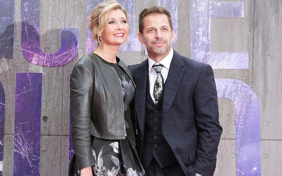<p>The film-making couple who are exec producers on 'Suicide Squad' are currently living in London while shooting 'Justice League' at Leavesden Studios.</p>