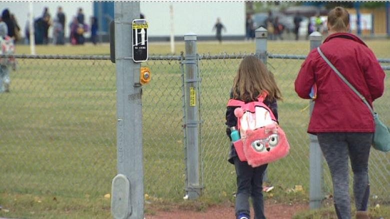 'Everybody gets butterflies': Thousands of students, teachers return to school in Calgary