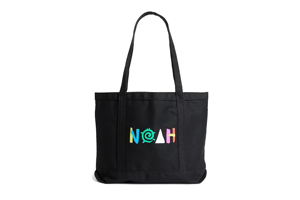 "$38, Nordstrom. <a href=""https://www.nordstrom.com/s/noah-more-core-logo-canvas-tote/5593341?origin=keywordsearch-personalizedsort&breadcrumb=Home&color=none"" rel=""nofollow noopener"" target=""_blank"" data-ylk=""slk:Get it now!"" class=""link rapid-noclick-resp"">Get it now!</a>"