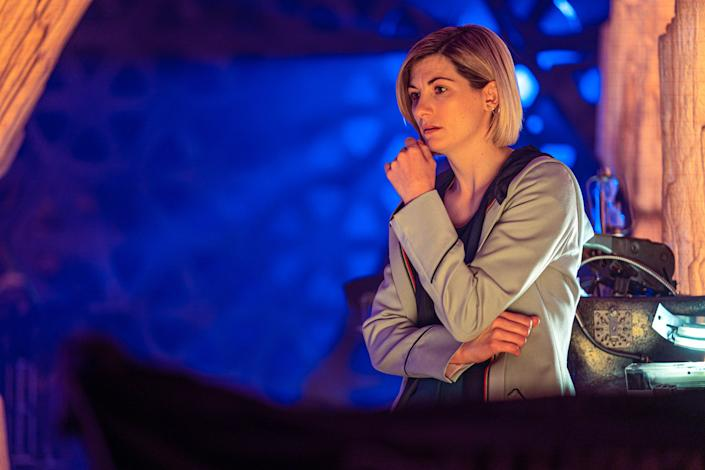 The latest Doctor Who instalment was rather timely. (BBC Studios/Ben Blackall)