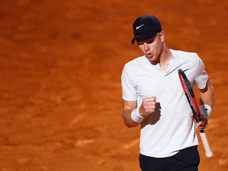 This is the first Grand Slam event at which Edmund has been seeded, though he insists he is not feeling any different going into it: Getty