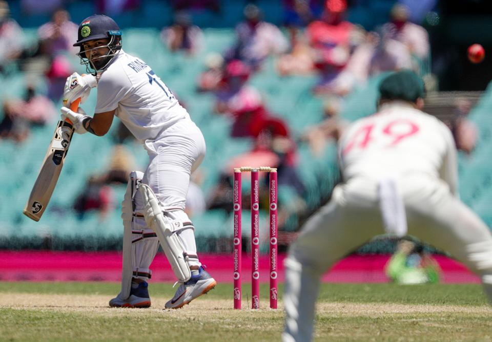 Rishabh Pant was not India's first choice for wicket-keeper at the start of the Test series.