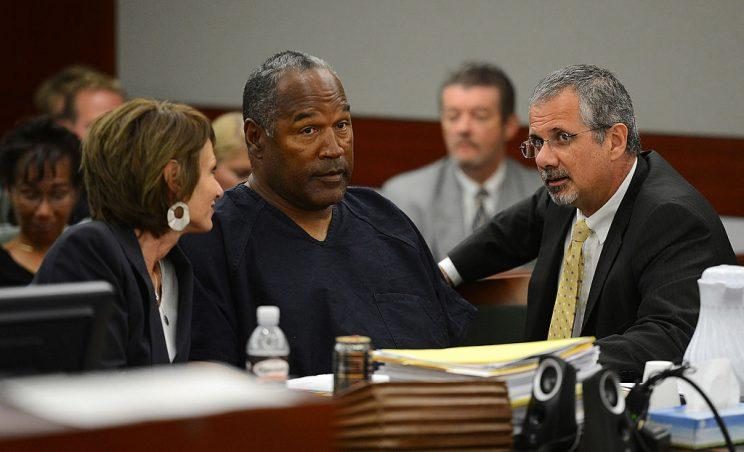 O.J. Simpson faces a parole board this week with the opportunity for freedom. (Getty)
