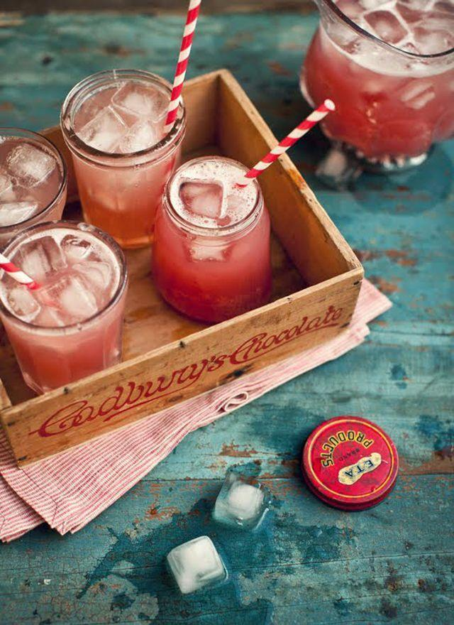 """<p>Stock up on patriotic paper straws, so every drink you serve can feel festive. Here, a simple (and delicious!) mixed drink gets dressed up. </p><p><a href=""""http://www.whatkatieate.com/recipes/apple-ginger-and-cranberry-vodka-cocktail/"""" rel=""""nofollow noopener"""" target=""""_blank"""" data-ylk=""""slk:Get the recipe from What Katie Ate »"""" class=""""link rapid-noclick-resp""""><em>Get the recipe from What Katie Ate »</em></a><br></p>"""