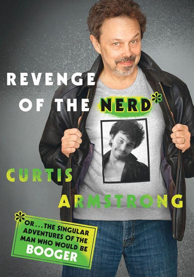 The new memoir from actor Curtis Armstrong. Source: Macmillan