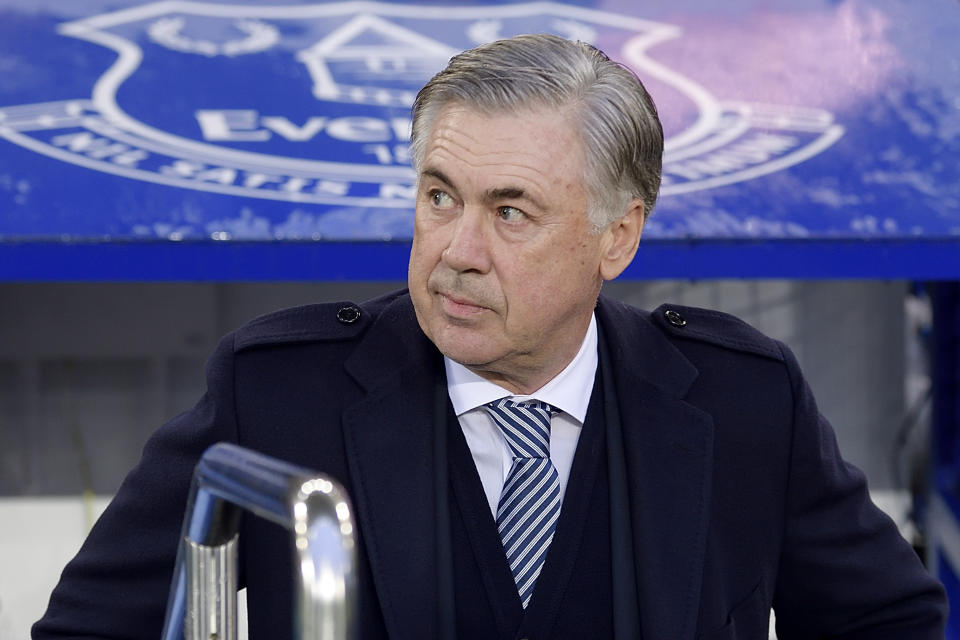 Carlo Ancelotti gets his first taste of the Merseyside derby this weekend in the FA Cup. (Photo by Tony McArdle/Everton FC via Getty Images)