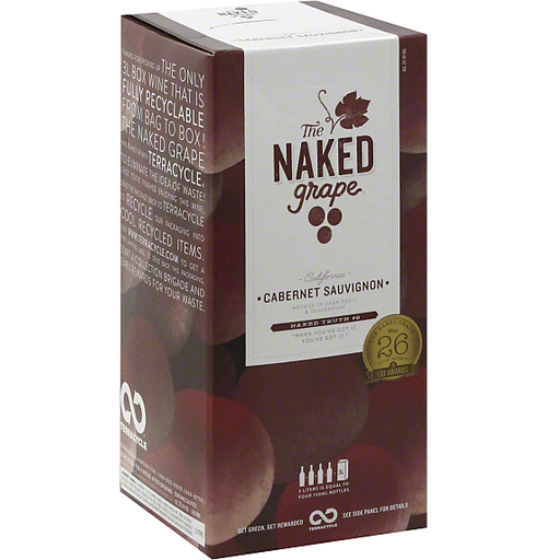 "<p>totalwine.com</p><p><strong>$14.99</strong></p><p><a href=""https://www.totalwine.com/wine/red-wine/cabernet-sauvignon/the-naked-grape-cabernet/p/112987031-1"" rel=""nofollow noopener"" target=""_blank"" data-ylk=""slk:Buy"" class=""link rapid-noclick-resp"">Buy</a></p><p>I hate being a jerk, but I'm going to be a jerk. Naked Grape is the bottle of wine I get people when I want them to think I've tried, but I actually haven't. It's a nice design. Fun name. Saying ""naked"" makes us giggle; no one fun ever outgrows that. But surprisingly, this boxed Cabernet Sauvignon varietal is stronger than it has the right to be! It's not taking the top spot, but Naked Grape has a Cab Sav that isn't just on the less expensive side. I would also say I prefer its box more than its bottle. I know, I know. That's a bold claim, but look at the times we're living in. Be bold, like Naked Grape.</p>"