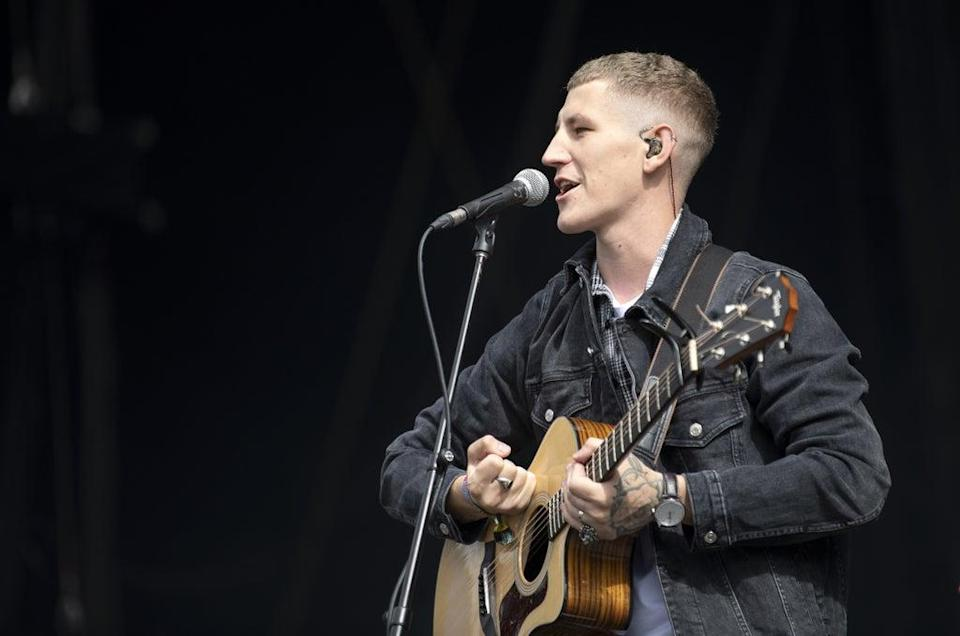 Nathan Evans performs at the TRNSMT Festival (Lesley Martin/PA) (PA Wire)