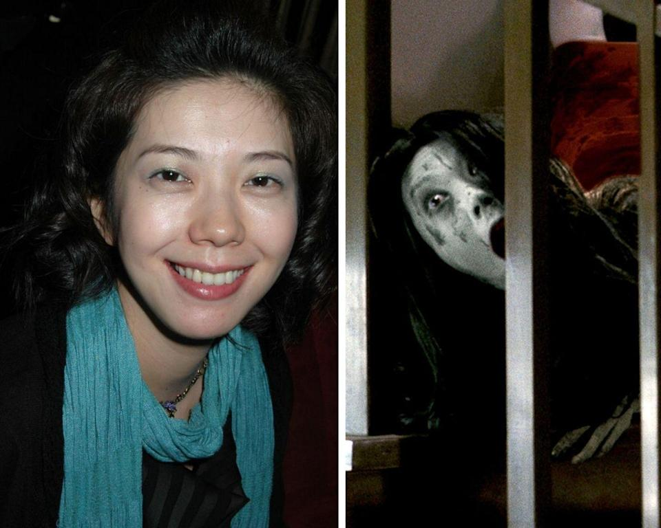 <p>Between the American film series and the original Japanese version, there are 11 <em>Grudge</em> movies, plus a Netflix series. Takako Fuji has portrayed the character of a vengeful spirit, Kayako, in six of the films: <em>Ju-on: The Curse, Ju-on: The Curse 2</em>, <em>Ju-On: The Grudge</em>, and <em>Ju-on: The Grudge 2</em>, as well as their American counterparts,<em> The Grudge</em> and <em>The Grudge 2. </em>News flash: a hair comb is used to achieve the infamous crackling sound that Kayako makes throughout all the films. </p>