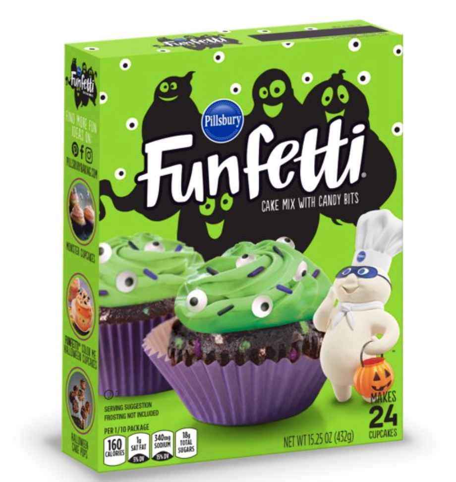 They'll giggle like the Dough Boy for these slime cupcakes. (Photo: Walmart.com)