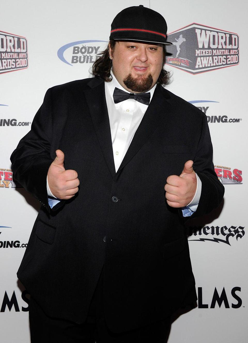 """<p>After seeing friend and costar, Corey """"Big Hoss"""" Harrison, drop <a href=""""https://people.com/tv/pawn-stars-corey-harrison-192-pound-weight-loss/"""" rel=""""nofollow noopener"""" target=""""_blank"""" data-ylk=""""slk:almost 200 pounds"""" class=""""link rapid-noclick-resp"""">almost 200 pounds</a> after getting lap band surgery, Chumlee of <em>Pawn Stars </em>decided to get gastric sleeve surgery. He lost almost 40 pounds during the pre-op diet alone.</p>"""