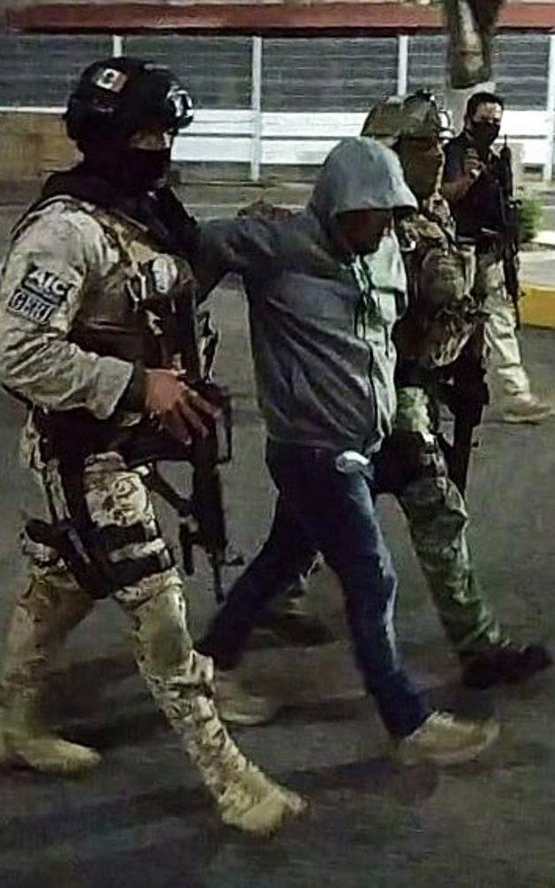 Jose Antonio Yepez after his arrest by the Mexican federal forces - GUANAJUATO STATE ATTORNEY'S OFFICE/HANDOUT/EPA-EFE/Shutterstock/Shutterstock