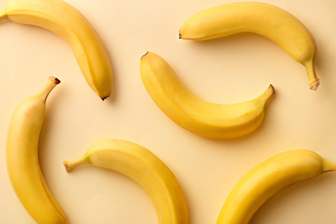 """<p>Bananas are the first item in the """"brat"""" diet (bananas, rice, applesauce, and toast), which has been used by generations to soothe bellies.</p> <p>Why are bananas at the top of the list? They contain potassium, which you may need if you're dehydrated from vomiting or diarrhea, says Robynne Chutkan, MD, assistant professor in the division of gastroenterology at Georgetown University Hospital in Washington, DC.</p> <p>They also contain sugar so you get calories at a time when you're probably not eating much. But they're not so sweet it will make you even more nauseous, says Dr. Chutkan.</p> <p><strong>RELATED: </strong><a href=""""https://www.health.com/mind-body/colorful-fruits-and-vegetables""""><strong>12 Ways to Eat More Colorful Fruits and Vegetables</strong></a></p>"""