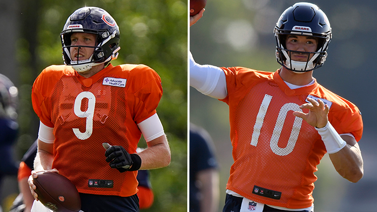 Under Center Podcast: Inside the Bears QB competition and training camp