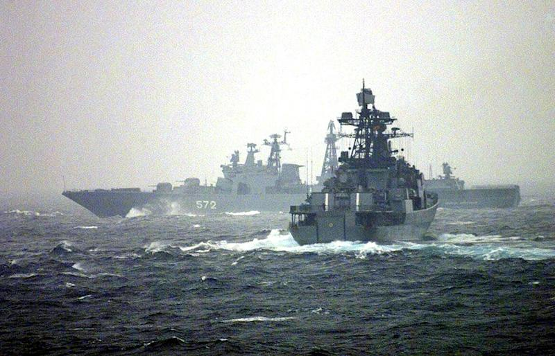 Russia is planning navy drills in the Mediterranean, adding to concerns about its military build up in Syria