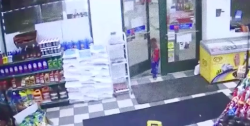 His mother went to the petrol station after hearing police cars were there. Photo: WXYZ News.
