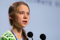 She may divide opinion but environmental campaigner Great Thunberg has been someone the whole world has been interested in this year. The teenager was named Time magazine's Person of the Year in December. (Getty)