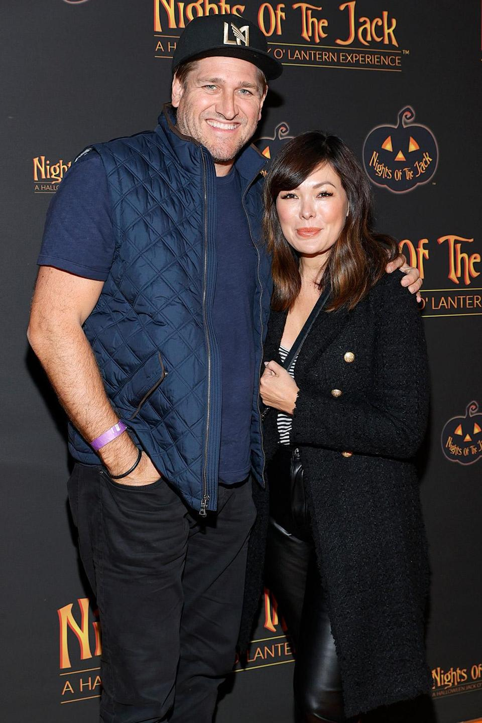 <p>keeping close at Nights of the Jack's friends and family preview night in Calabasas, California, on Oct. 1.</p>