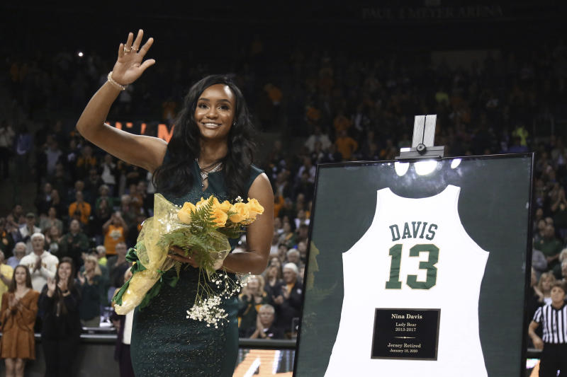 No. 2 Baylor women Big 12-record 45th straight league win