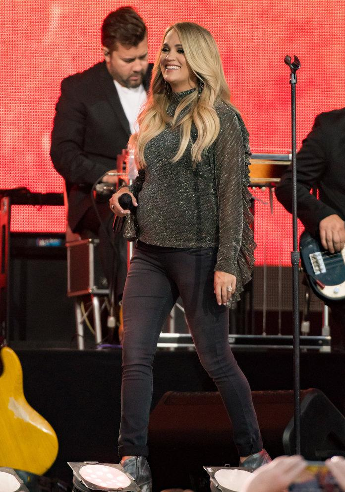 Carrie Underwood Has Perfected The Art Of Maternity Dressing