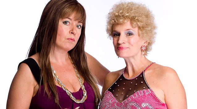 Kath and Kim are said to have a 'broad' accent. Source: AAP