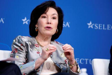 Safra A. Catz, Chief Executive Officer, Oracle, speaks at 2017 SelectUSA Investment Summit in Oxon Hill, Maryland