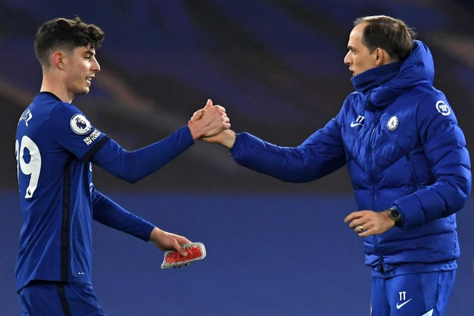 """<p>Tuchel on Havertz: """"This is what we want from him""""</p> (POOL/AFP via Getty Images)"""