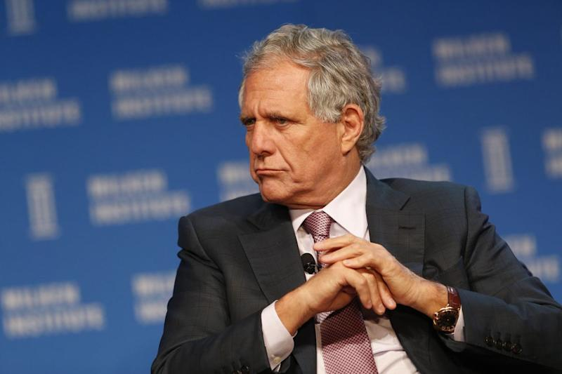 Moonves Sets Stage for Final Showdown With Redstone Family