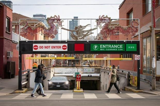 As of 12:01 a.m., Oct. 16, the city and Toronto Parking Authority Workers will be in a legal strike or lockout position.   (Evan Mitsui - image credit)