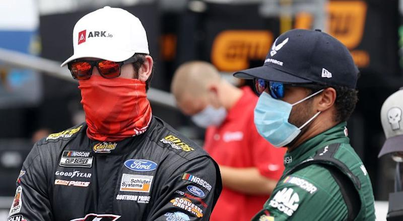 NASCAR suspends crew chiefs for Bubba Wallace, Corey LaJoie