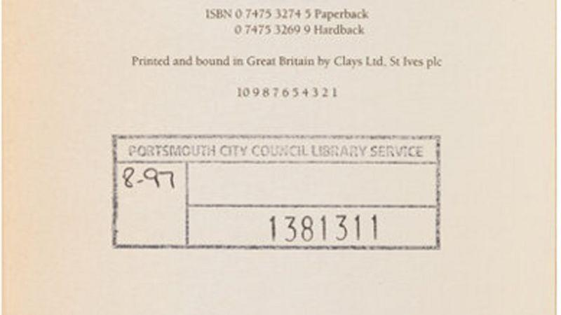 The book contains a stamp from Portsmouth City Library (Picture: Heritage Auctions)