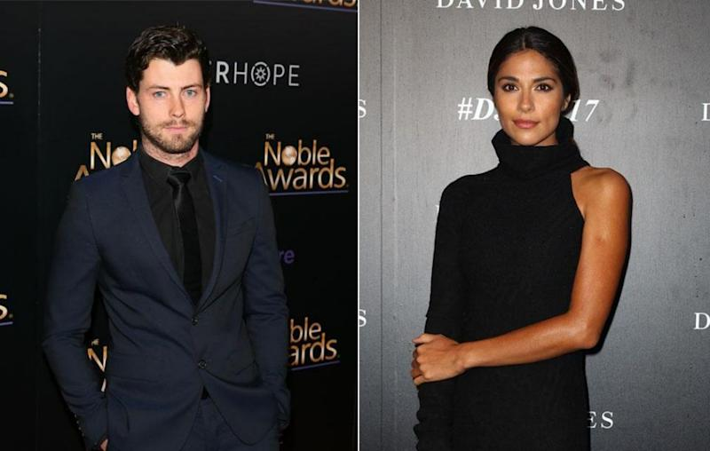 Home And Away stars Jackson Heywood and Pia Miller have taken to social media to show their support towards co-star Jessica Falkholt, as she clings to her life following a serious car crash that killed both her parents on Boxing Day. Source: Getty