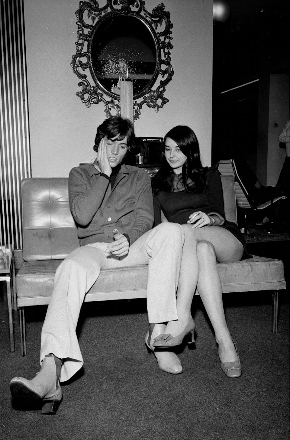 He was taken there after a revolver was fired outside his penthouse flat in the City of London October 1968 (Photo by Mirrorpix/Mirrorpix via Getty Images)