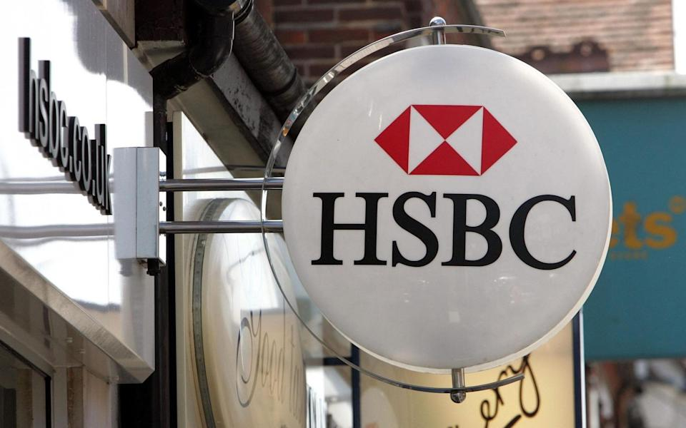 File photo dated 28/07/2006 of an HSBC bank logo in Camberley, Surrey.  - Tim Ockenden/PA Wire