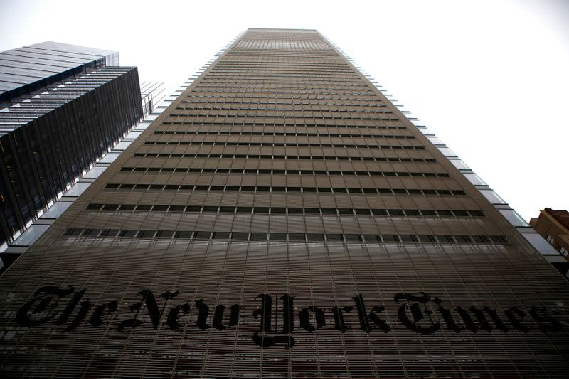 New York Times warns of ad sales drop after upbeat first-quarter results