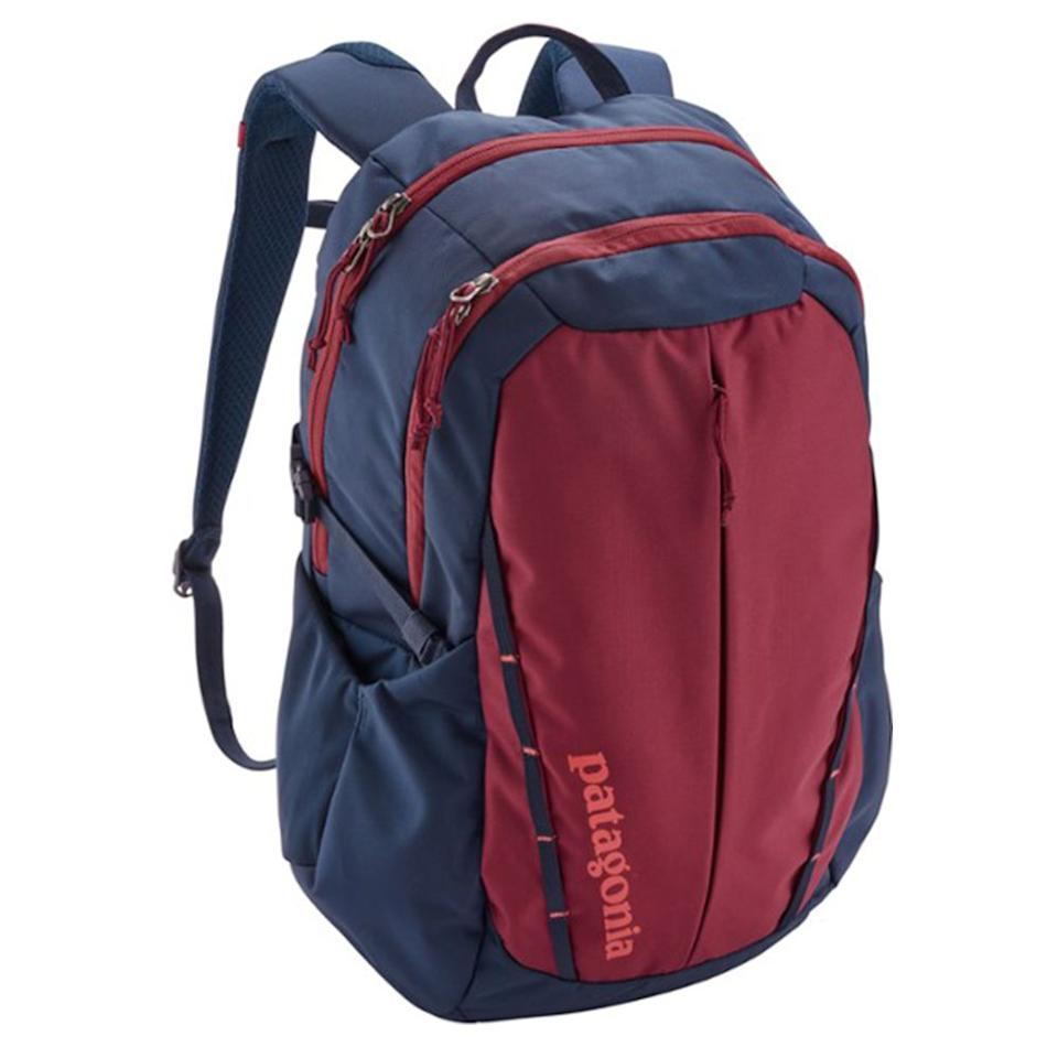 """<p><strong>Patagonia</strong></p><p>rei.com</p><p><strong>$89.00</strong></p><p><a href=""""https://go.redirectingat.com?id=74968X1596630&url=https%3A%2F%2Fwww.rei.com%2Fproduct%2F117964&sref=http%3A%2F%2Fwww.bestproducts.com%2Ffitness%2Fclothing%2Fg1214%2Fgym-backpacks-sports-bags%2F"""" target=""""_blank"""">Shop Now</a></p><p>Because Patagonia was a company essentially built for active people, you <em>know</em> any product you get will be both comfortable and durable. This gym backpack is no exception. It's a midsize bag with lots of compartments, and it comes with a sternum belt for extra support. We love that it includes a laptop sleeve, too!</p>"""
