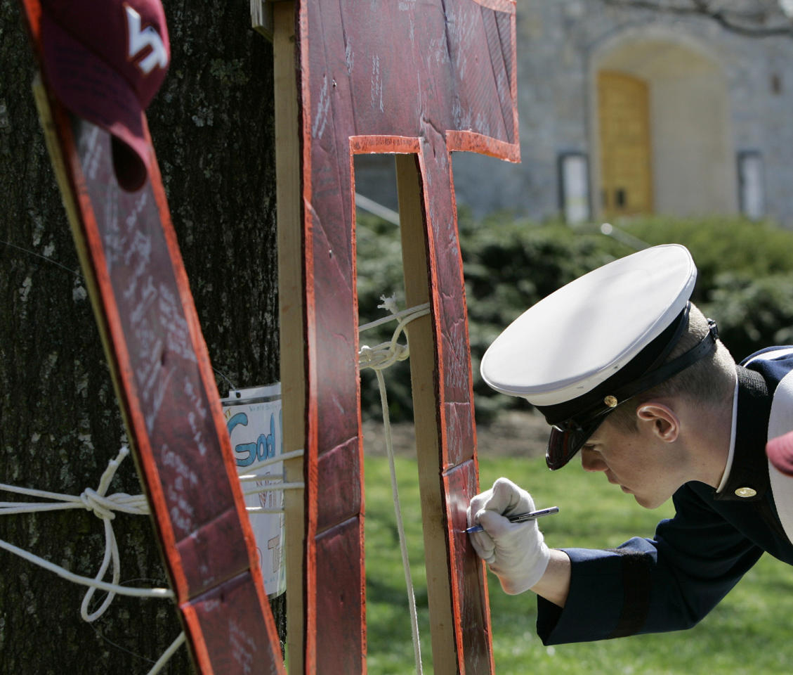 A Look Back At The Virginia Tech Shootings: 10 Years After