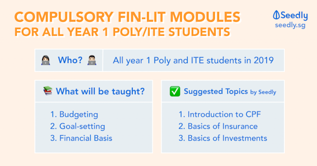 Compulsory Financial Literacy Modules for First Year Polytechnic and ITE Students