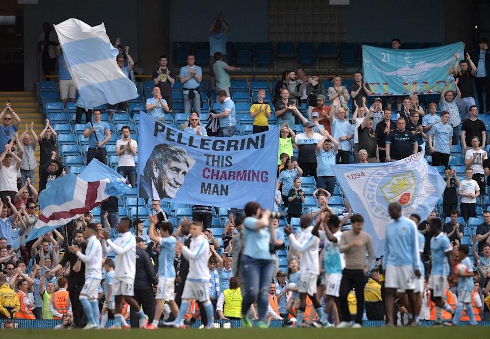 Despite reaching the semi-finals of this season's Champions League, Manchester City faced the real threat of missing out on qualification for next season's competition (AFP Photo/Oli Scarff )