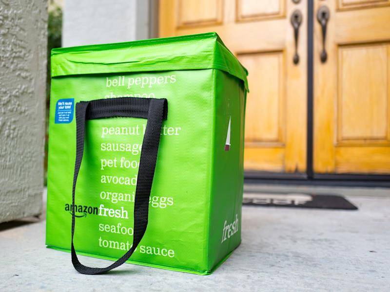 Amazon makes grocery delivery service free for Prime members