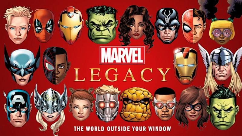 Marvel's 'Legacy' will 'break the internet,' says Axel Alonso
