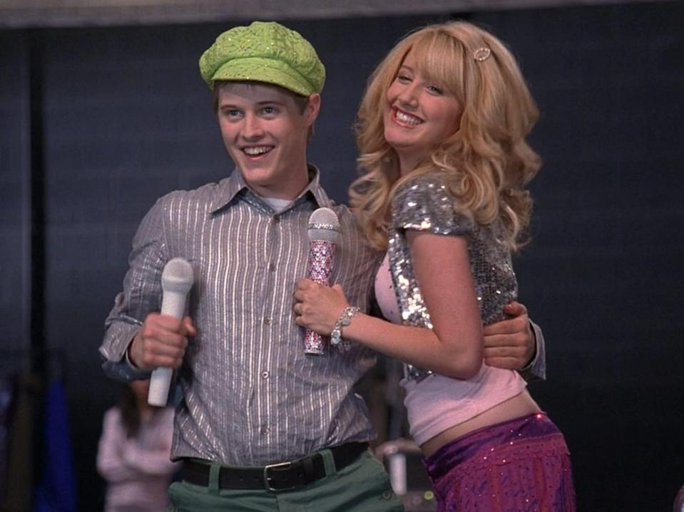 "Ryan Evans and Ashley Tisdale as Sharpay Evans in ""High School Musical."" 8 Credit Disney Channel"