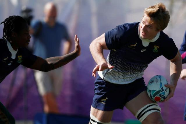 Rugby World Cup - Final - South Africa Training