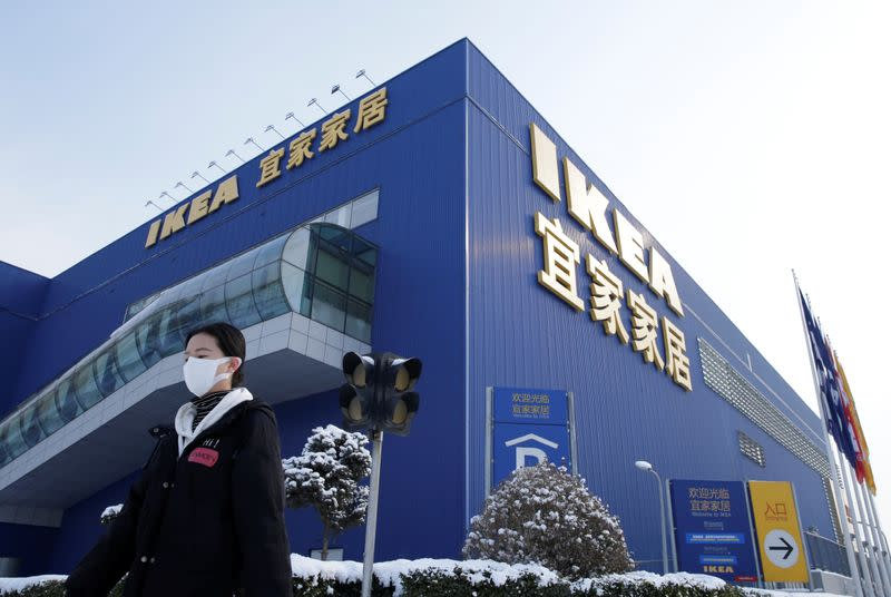 IKEA reopens nine more stores in China